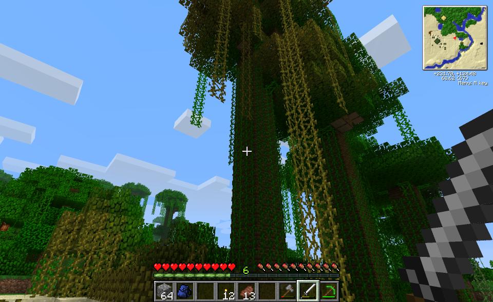 Screenshots of Nick's fifth world, Tekkit